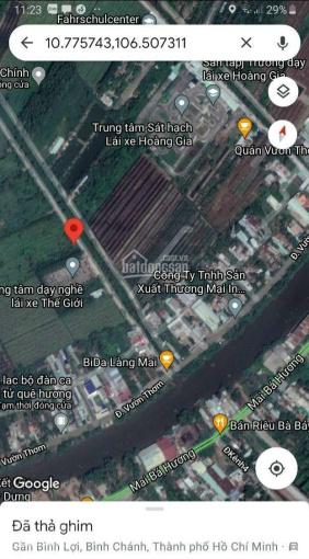 Bán gấp đất mặt tiền Kênh 10, X. Bình Lợi, H. Bình Chánh, DT: 70m x 145m (10.034m2) ảnh 0