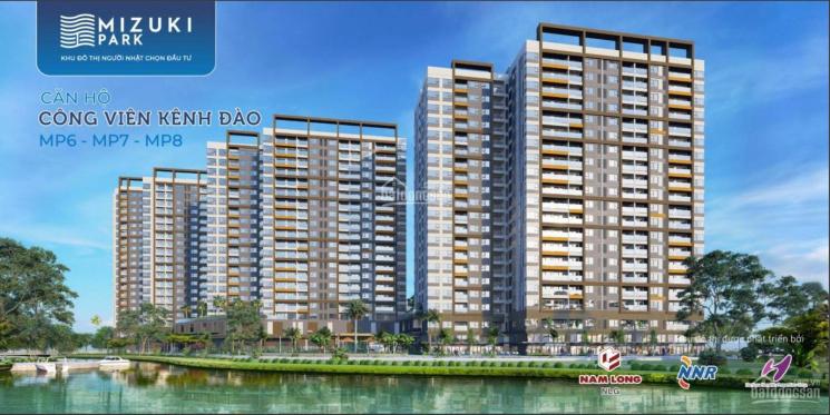 Nam Long bán căn hộ Mizuki Park từ chủ đầu tư được vay gói 0% hoặc 6% thanh toán giãn ảnh 0