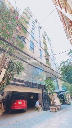 Siêu phẩm Hoàng Cầu 110 m2 9 tầng MT 18.5m đường ô tô tránh cho thuê 200 tr/th 42 tỷ Đống Đa ảnh 0