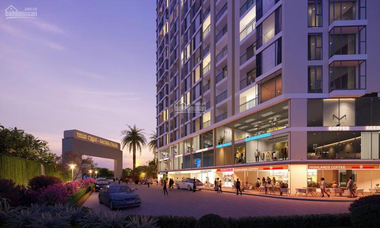 Đầu Tư! Căn shophouse trệt 2 lầu 159m2 chung cư 23 tầng Thiên Quân Marina Plaza ảnh 0