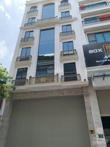Cho thuê nhà trong ngõ Hoàng Văn Thái, DT 90m2 x 7 tầng, nhà mới, thang máy, ngõ rộng, giá 40 tr/th ảnh 0