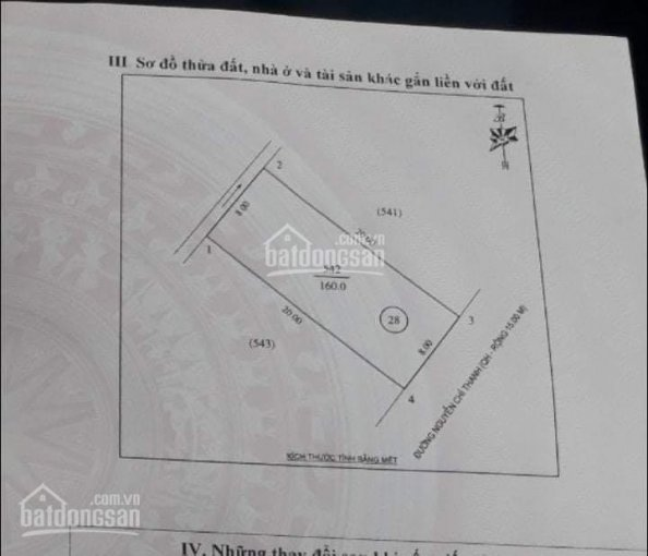 Bán đất mặt đường kinh doanh Nguyễn Chí Thanh, giá chỉ 2.7 tỷ ảnh 0
