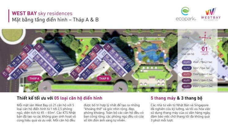 Chính chủ cần bán căn hộ 55m2 2PN tại Ecopark, khu đô thị có thiết kế cảnh quan đẹp nhất thế giới ảnh 0