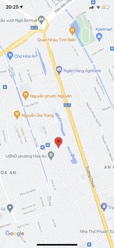 Bán lô đất 2 MT đường Tôn Đản, Hòa An, Cẩm Lệ. DT: 450m2, sau lưng bến xe trung tâm, giá: 14,5 tỷ ảnh 0