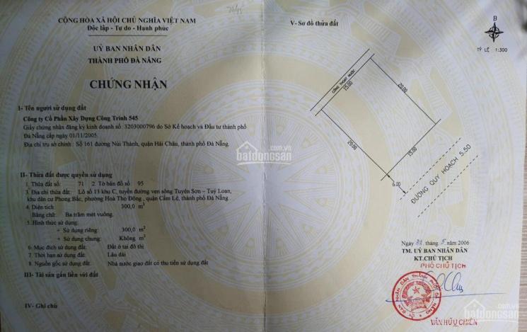 Chính chủ bán đất mặt tiền đường Thăng Long: DT 300m2, ngang 15m. Liên hệ 0987901827 ảnh 0