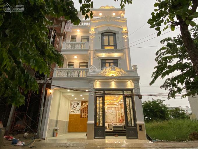 Kiến trúc châu Âu, nhà mới xây 04 tầng, DT 6.5x12.5m, vị trí đẹp, khu vip đường Huỳnh Tấn Phát ảnh 0