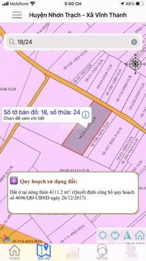 Bán lô đất rất đẹp xã Vĩnh Thanh, Nhơn Trạch, Đồng Nai. Diện tích 39mx102m. Giá đầu tư. Sổ đầy đủ. ảnh 0