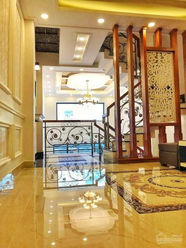 Bán nhà mới hẻm thông 8m Dương Quảng Hàm, P5, Gò Vấp. DT 4x15m 1 trệt lửng 2 lầu ST, 7.6 tỷ TL ảnh 0