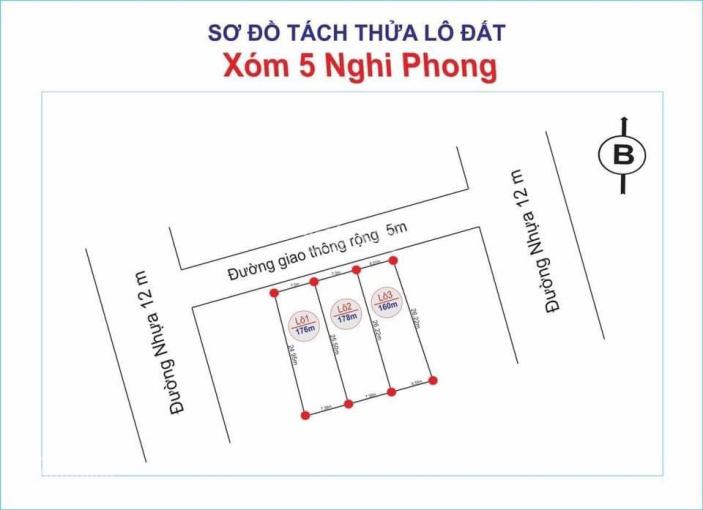 Bán đất Nghi Phong, Thành Phố Vinh, Tỉnh Nghệ An ảnh 0