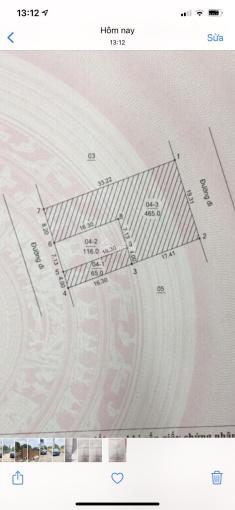 Tôi chính chủ bán 116m2 đất TĐC Vân Côn, Hoài Đức, đường ô tô tránh nhau, vỉa hè rộng 2m, 35tr/m2 ảnh 0