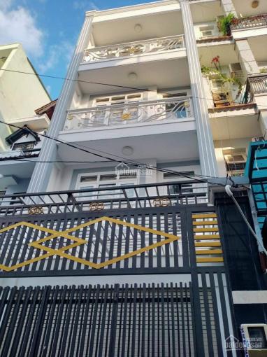 Cho thuê nhà mới đẹp, 4x17m, đúc 3 lầu, Huỳnh Văn Nghệ, P15. 15tr/ tháng ảnh 0