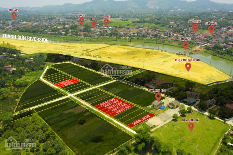 Bán đất nền thị trấn Thanh Sơn 6 triệu/m2, có sổ đỏ. Liên hệ 0981.533.888 ảnh 0