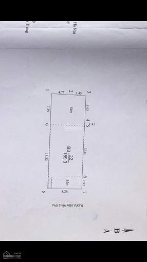 Mặt phố Triệu Việt Vương, Hai Bà Trưng, 190m2, MT 8.3m, doanh thu 222,61 triệu/tháng, giá 95 tỷ ảnh 0