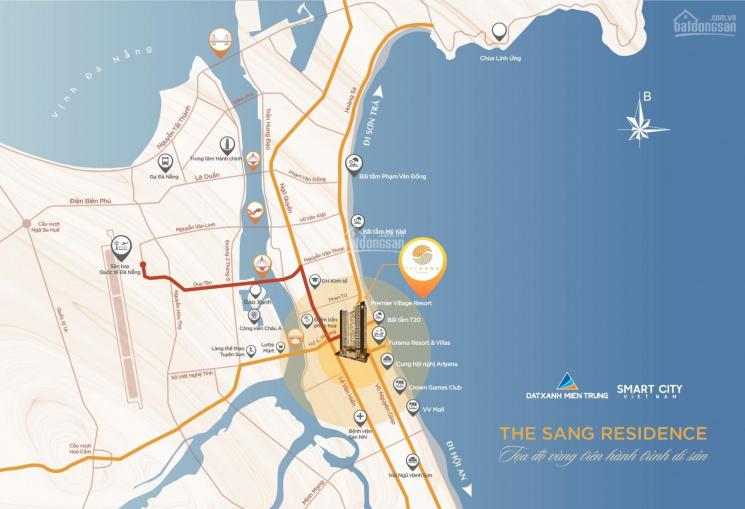 Nhận đặt chỗ căn hộ cao cấp The Sang Residence - View biển Mỹ Khê Đà Nẵng ảnh 0