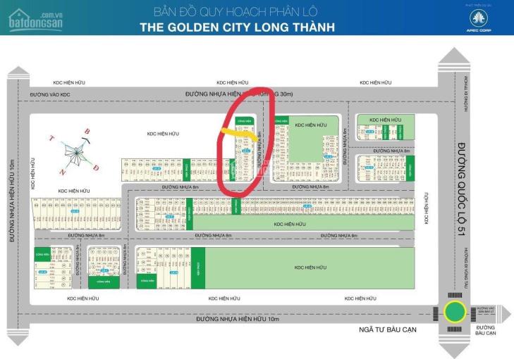 Chính chủ cần bán gấp lô đất cách QL 51 50m đối diện cổng 2 Sân Bay Long Thành, LH: 0962357187 ảnh 0