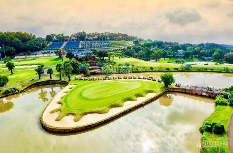 Đất biệt thự nghỉ dưỡng trong sân golf Long Thành, view sông liền kề aqua city, giá từ 16tr/m2