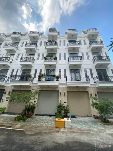 TT 1.5 tỷ nhận nhà 1 trệt 4 lầu, sổ hồng riêng, có thang máy MT đường Hà Huy Giáp, Quận 12 ảnh 0