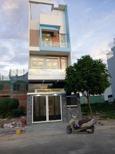 Cho thuê nhà mới 100% mặt tiền 85m2 Đ. D7 Dương Đình Hội, Q9, 1 trệt 2 lầu sth, 19tr/th, 0937688516 ảnh 0