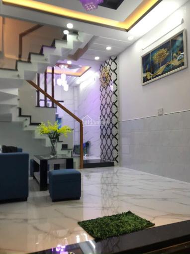 Gấp! Nhà đẹp BTCT Phan Văn Trị, P14, 4 tầng, (28m2) 3,3m x 8,5m, chỉ 3,8 tỷ ảnh 0