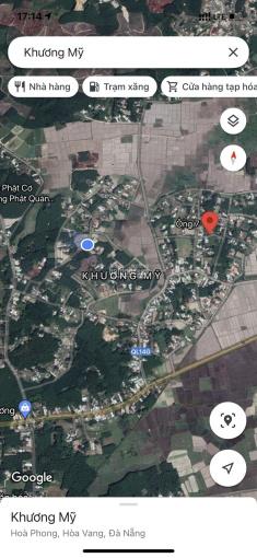 Cần bán lô đất 616m2 làm nhà vườn tại Hòa Phong, Hòa Vang, Đà Nẵng ảnh 0