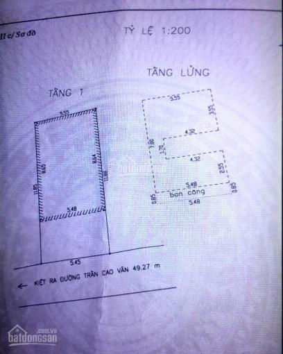 Bán nhà kiệt 3m Trần Cao Vân, trung tâm Đà Nẵng 66m2 giá chỉ 3,3 tỷ