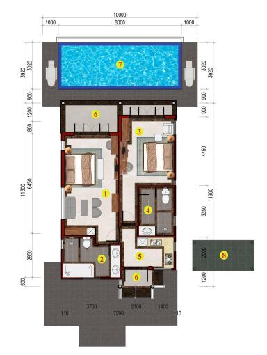 Duy nhất 1 lô biệt thự Bích Liên 1 tầng dự án Vườn Vua Resort CK 15% + 350 triệu ảnh 0