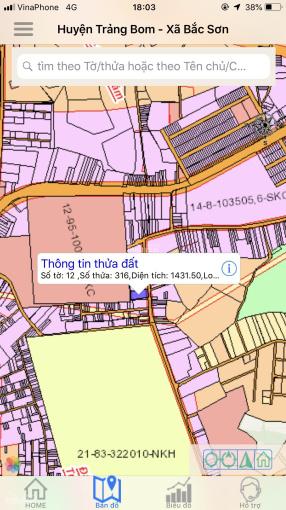 Chính chủ bán đất tại Biên Hòa, diện tích 26x54m, đường rộng rãi, dân cư kín, LH 0917906879 ảnh 0