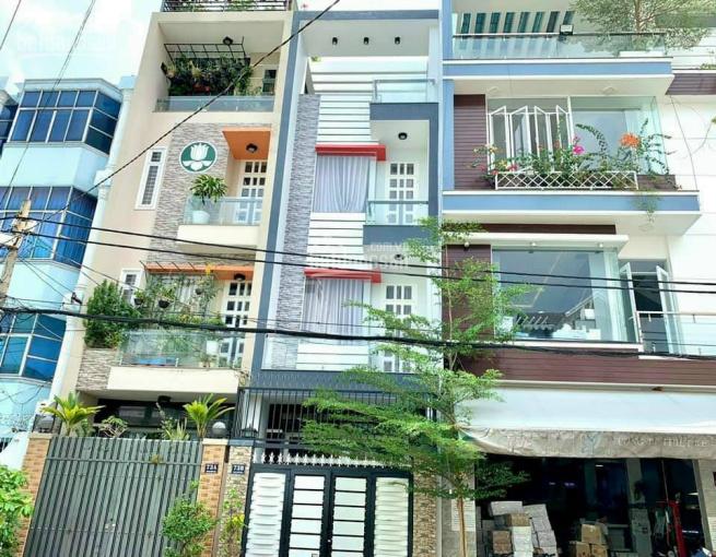 Cho thuê nhà h8m nhựa Tân Quý, Tân Hương, DT: 4 x 17m, 4tầng, 5PN Suốt ảnh 0