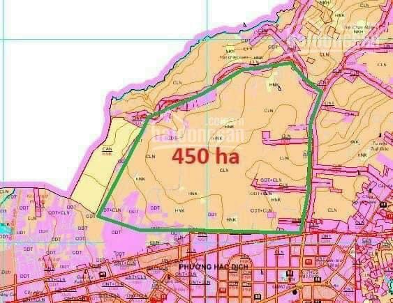 Cần bán nhanh nền đất liền kề khu công nghệ cao Hắc Dịch quy hoạch 450ha giá chỉ 1,45 tỷ 260m2 ảnh 0