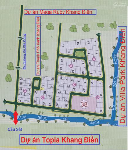 Cần bán 2 nền đất đường Bưng Ông Thoàn, phường Phú Hữu, Quận 9 - Thuộc dự án Dòng Sông Xanh ảnh 0