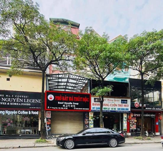 Cho thuê nhà mặt phố Trung Hòa. Diện tích 140m2, giá 70 triệu/tháng
