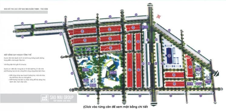 Bán đất KĐT Sao Mai Thanh Hoá ngân hàng hỗ trợ 50% lãi 0% trong 1 năm. LH: 0972658714 ảnh 0