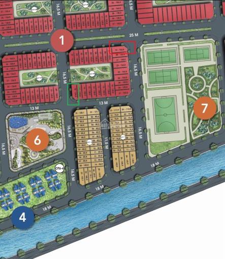 Bán lô góc shophouse trung tâm 3 mặt thoáng, view trực diện 3 công viên, mặt đường trục chính 16.5m ảnh 0