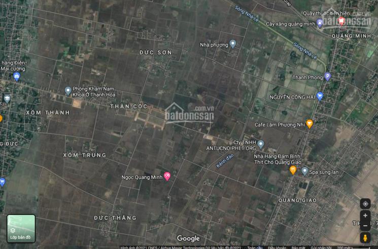 Mặt bằng Quảng Đức, Thanh Hóa lô B17 giá đấu 6,586 tr/m2, liên hệ 0971583883 ảnh 0