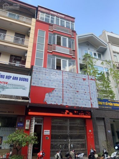 Cho thuê nhà phân lô Yên Hòa, Cầu Giấy, 90m2*6 tầng, đối diện vườn hoa có thang máy. Giá 35 tr/th ảnh 0