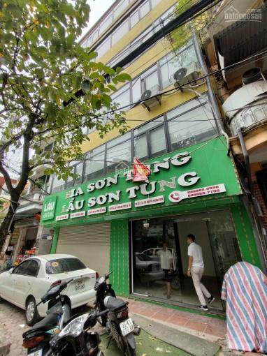 Cho thuê nhà Nguyễn Khánh Toàn, Cầu Giấy 80m2, 6 tầng, MT 10m thông sàn, thang máy. Giá 40tr ảnh 0