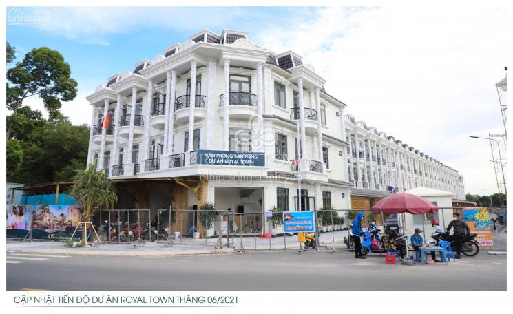 Dự án nhà phố cao cấp Royal Town Dĩ An - Bình Dương ảnh 0