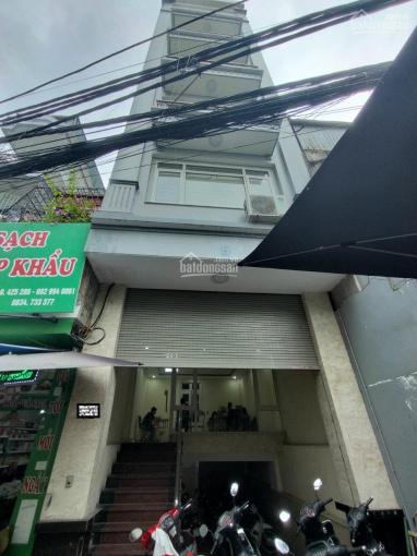 Cho thuê nhà đường Lê Văn Lương, Thanh Xuân, HN. DT 80m2, 7 tầng, 1hầm, thang máy, giá 48tr/th ảnh 0