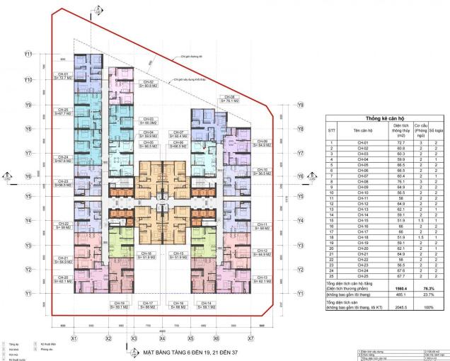 Chính chủ bán căn hộ Hoàng Huy Grand Tower Sở Dầu. Giá 1,32 tỷ