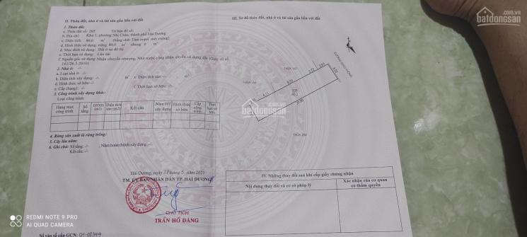 Đất phố Phan Chu Trinh - Nhị Châu - TP Hải Dương ảnh 0