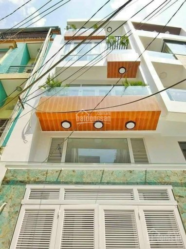 Bán nhà mới hẻm 7m khu Cư Xá Lam Sơn Nguyễn Oanh, P17, Gò Vấp. DT 4x21m 1 trệt 2 lầu ST, giá 9.7 tỷ