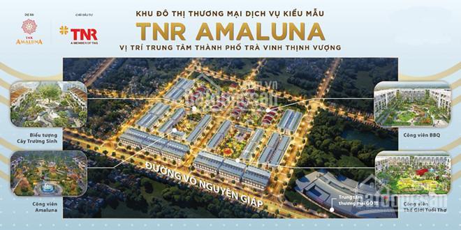 Sở hữu nhà phố 1 trệt 2.5 lầu ngay KDC TNR Amaluna Trà Vinh, trả góp 0 đồng đến 24 tháng ảnh 0
