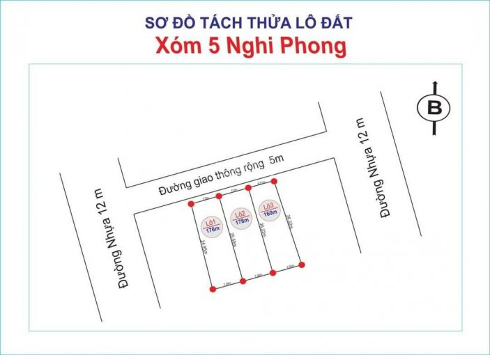 Bán đất Xóm 5, Nghi Phong, Tp Vinh ảnh 0