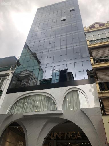 Tòa nhà văn phòng phố Nguyên Hồng siêu hiếm 85m2, 8 tầng, mặt tiền 8.2m, thang máy xịn ảnh 0