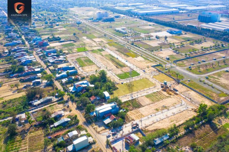 3 lô sạch đẹp cuối cùng Glenda City - mặt tiền đường Võ Như Hưng mở rộng, sở hữu chỉ với 1.1 tỷ/lô ảnh 0