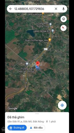 Cần tiền bán gấp lô đất Đăk R'La huyện Đăk Mil, đaknong ảnh 0