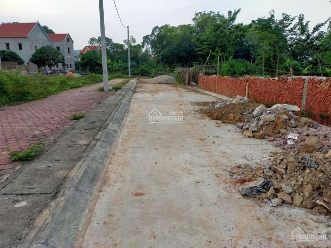 Chính chủ bán đất khu phố chợ Cầu Xây xã Tân Dân, Sóc Sơn. MT 7m, giá 17tr/m2 ảnh 0