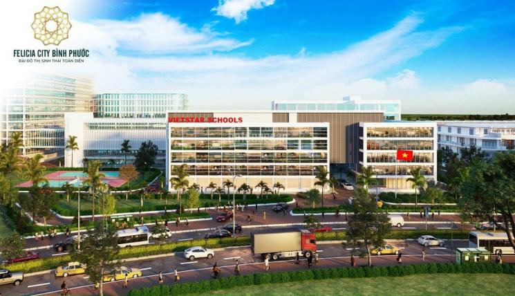 Đất nền sinh thái Felicia City Bình Phước, thổ cư 100%, sổ đỏ, giá tốt gia đoạn đầu 3,5tr/m2 ảnh 0