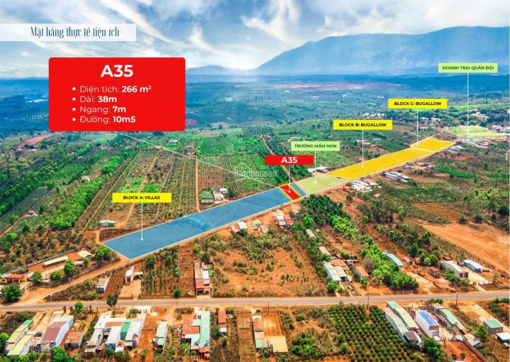 Chỉ 3,4tr/m2 - mua đất tặng kèm nhà Homestay chuẩn resort 5 sao - chỉ có tại Mang Yang ảnh 0