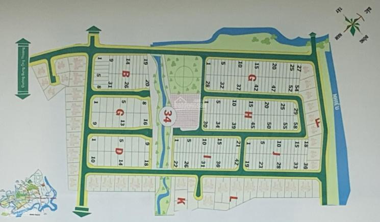 Các nền đất giá rẻ cần bán tại dự án cty Đông Dương, phường Phú Hữu, Q9, TP.HCM. Giá tốt 07/2021